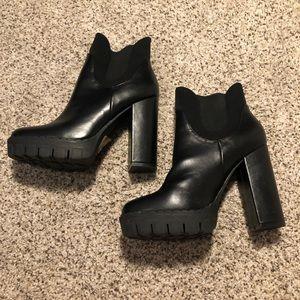 Fashion Nova Slip on heels.
